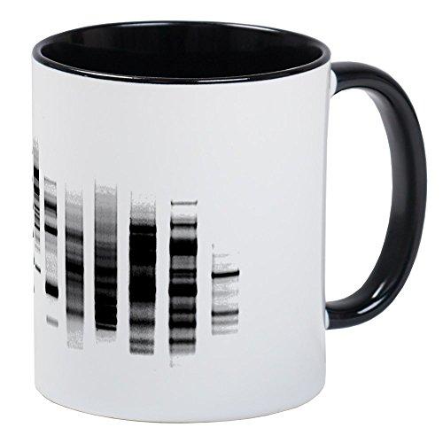 Dna Electrophoresis Gel - CafePress - DNA Gel Mug - Unique Coffee Mug, Coffee Cup