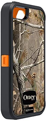 OtterBox Defender Series Case with Realtree Camo for Apple iPhone 5 - Xtra Orange - Case Only from Otterbox