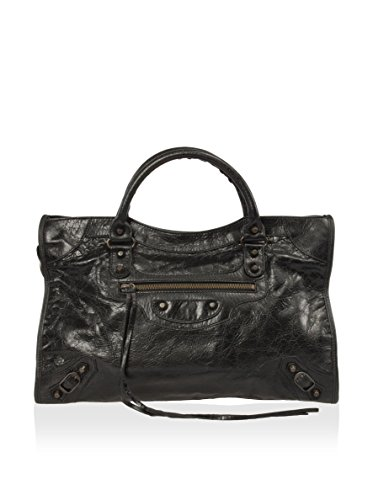 balenciaga-womens-classic-city-lambskin-bag-black-one-size