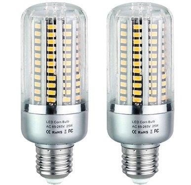 Bulbright 2 Pack 25w Led Ampoule De Mais Forme Classique 1800lumen