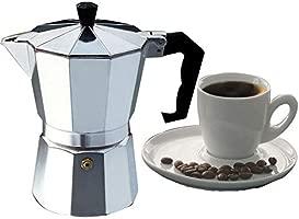 kbxstart Cafetera Italiana para café expreso Moka Cafeteira ...