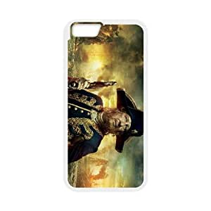 iPhone 6 4.7 Inch Cell Phone Case White Pirates of the Caribbean Plastic Phone Case Cover Active CZOIEQWMXN9900