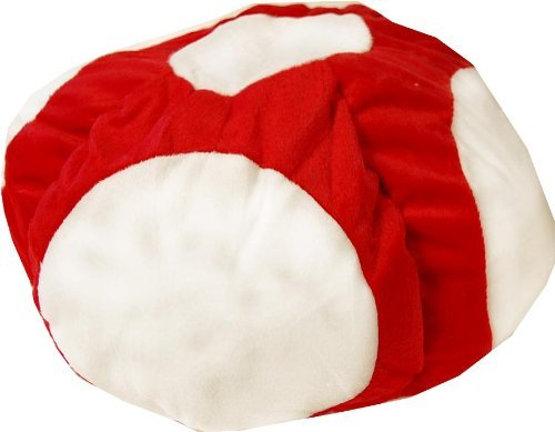 Toad Mario Costumes (Super Mario Brothers Toad Plush Hat)