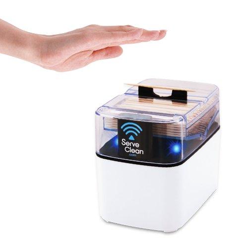Serve Clean DW6400 Toothpick Dispenser, White