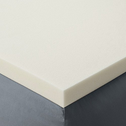 Red Nomad - Twin Size 2 Inch Thick, Ultra Premium Visco Elastic Memory Foam Mattress Pad Bed Topper - Made in the USA (Twin Foam Mattress Pad 2 Inch)