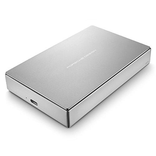 LaCie Porsche Design 4TB USB-C Mobile Hard Drive STFD4000402 - Silver