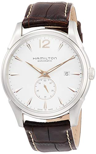 Hamilton Men s H38655515 Jazzmaster Slim White Dial Watch
