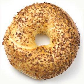 Fresh New York 1800NYCBagels Onion Bagel - DOZEN