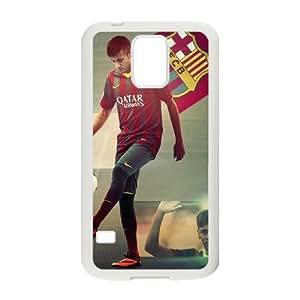 Neymar Samsung Galaxy S5 Cell Phone Case White JN022882