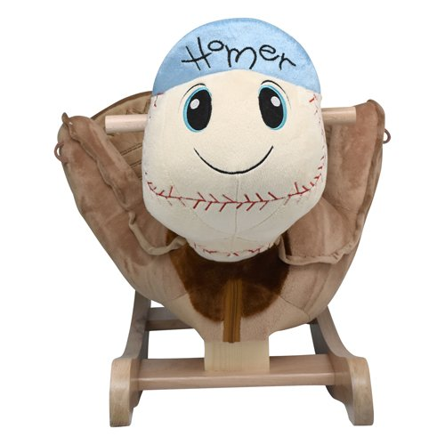 Ababy Homer Baseball Plush Rocker