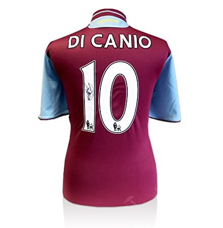 46c5382ecc6 Paolo Di Canio Signed Shirt - West Ham Hero: Amazon.co.uk: Kitchen & Home