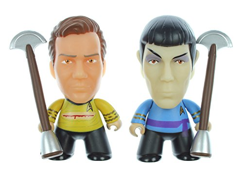 "Star Trek: The Original Series Kirk Vs. Spock 3"" Vinyl Figure Set - ""Amok Time"" - SDCC 2016 Exclusive"