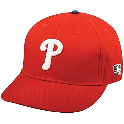 Caps Phillies Baseball (MLB Replica Adult Baseball Cap Various Team Trucker Hat Adjustable MLB Licensed , Philadelphia Phillies - Home)