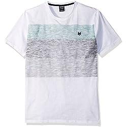 Zoo York Men's Short Sleeve Switch Crew Knit Shirt, Patina, Medium