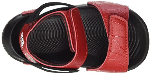 adidas Unisex Baby Spider-Man Altaswim Sandalen Rot (Scarlet/scarlet/core Black)