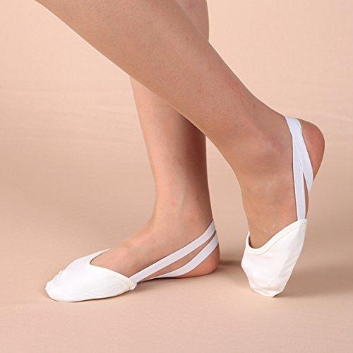 De Peau Danse Chaussures De Bluelover De À Couleur Blanche Deux L'intérieur De Chaussures Danse Des L Couleurs Ballet zqxSF1w