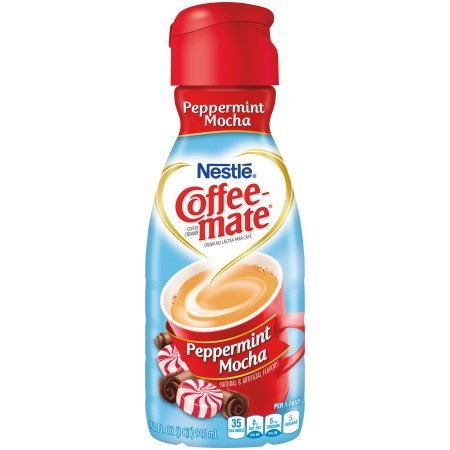 (COFFEE-MATE Peppermint Mocha Liquid Coffee Creamer 32 Oz (Pack of 2))