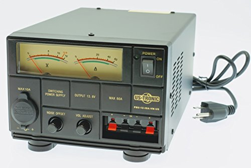 - US-TRONIC AC-DC Step-Down Transformer from 110 Volts to 12 Volts (50A)