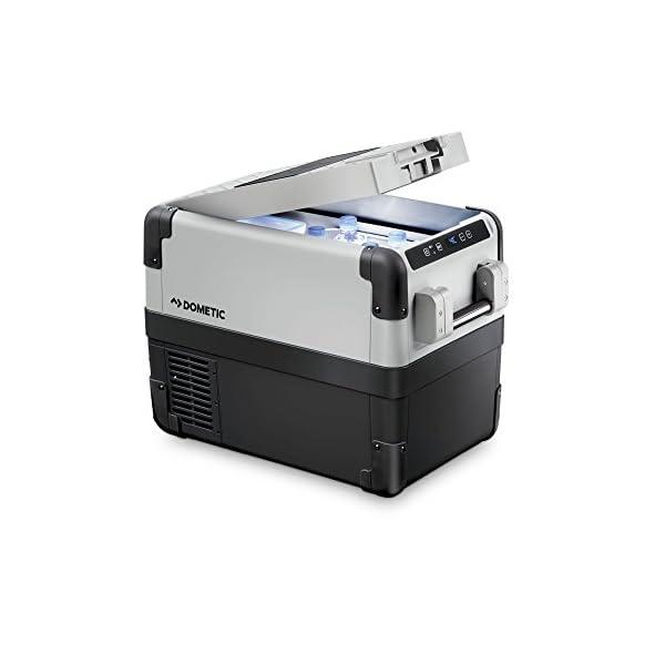 41D6yGG3KsL DOMETIC CoolFreeze CFX 28,tragbare elektrische Kompressor-Kühlbox, 26 Liter, mit USB-Anschluss, 12/24 V und 230 V für…