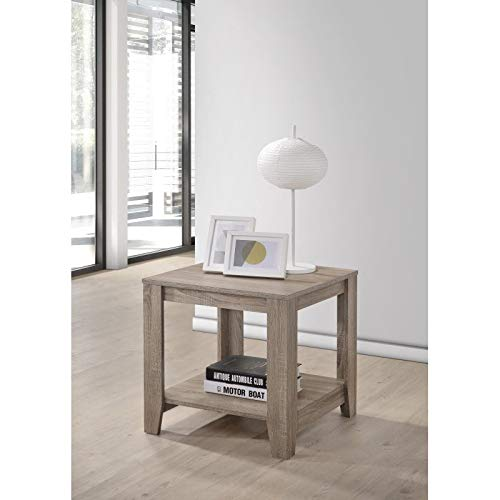 (Progressive Furniture T177-04 Barry End Table, Gray)