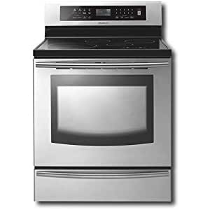 Samsung : FTQ307NWGX 30 Freestanding Induction Range, 4 Cooktop Elements, Convection, Self Clean