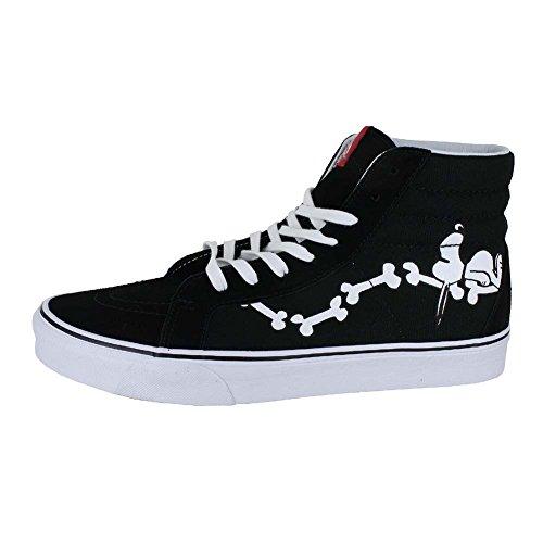 Vans Sk8-hi - Zapatillas Unisex (Peanuts) Snoopy Bones/Black