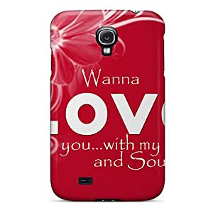 Fashionable Style Case Cover Skin For Galaxy S4- Wanna Love