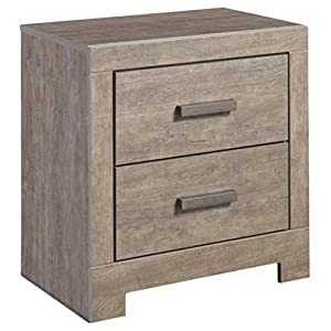 Ashley Furniture Signature Design – Culverbach Nightstand – Contemporary Style – Gray