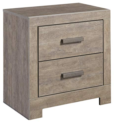 Ashley Furniture Signature Design - Culverbach Nightstand - Contemporary Style - Gray