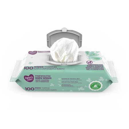Amazon.com : Parents Choice Fragrance Free Baby Wipes, 500 count (5 packs of 100) (2 Case) : Baby