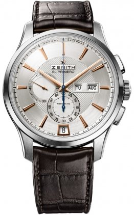 Zenith El Primero Captain Winsor 03.2070.4054/02.C711 - Reloj para Hombre con Calendario Anual: Amazon.es: Relojes
