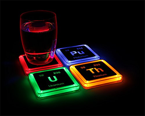 41D6zgRf75L - Radioactive Elements Glowing Coaster Set