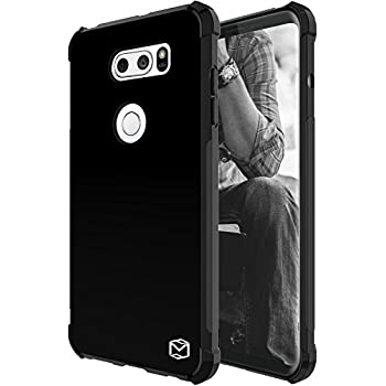 LG V30 Case, LG V30+ Case, MP-MALL [Slim Thin] Flexible TPU Gel Rubber Soft Skin Silicone Protective Case Cover For LG V30 Plus (Black)