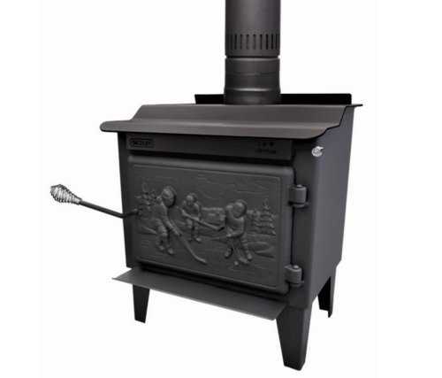 DROLET Rocket EPA-Certified Wood Stove - 40,000 BTU, Mode...