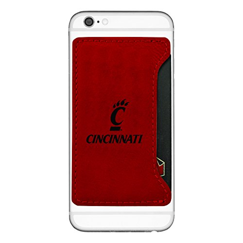 Cell Shift - University of Cincinnati-Cell Phone Card Holder-Red