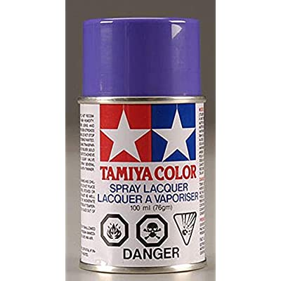 Tamiya America, Inc Polycarbonate PS-10 Purple, Spray 100 ml, TAM86010: Toys & Games