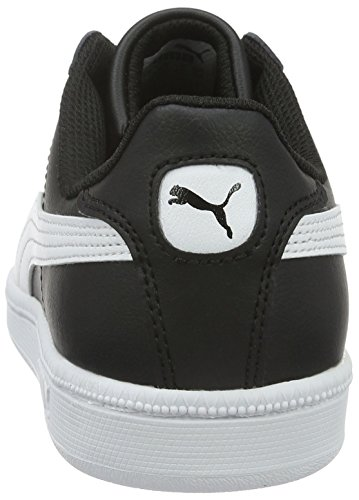 Puma white Jr Sneakers Smash Fun black Mixte Basses L Enfant Noir qpwPBq