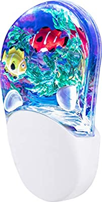 Lights by Night Color-Changing Table Top Lamp Nightlight, USB Powered, 9 Multi-Colored 3D Options