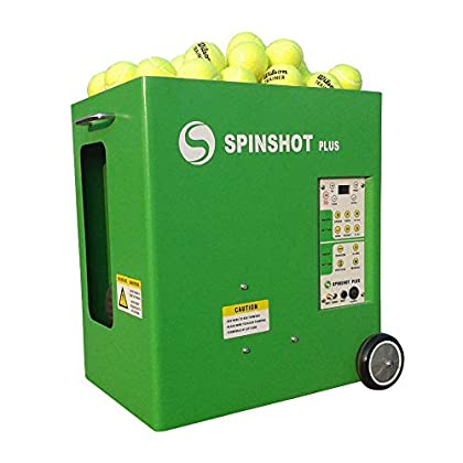 Image of Ball Machines Spinshot Plus-2 Tennis Ball Machine (Plus2 Model =Plus Model + Player Model)