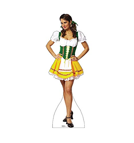 Advanced Graphics Beer Garden Girl Life Size Cardboard Cutout Standup