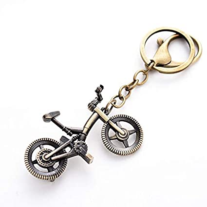 Key Chains - Punk Vintage Bronze Plated Bicycle Keychain Bike Style Key  Chain Pendant for Men 68824d175e