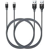 Anker Powerline+, 1,8 m USB-C naar USB 3.0 A-kabel, nylon oplaadkabel voor USB type C-apparaten, compatibel met Galaxy…