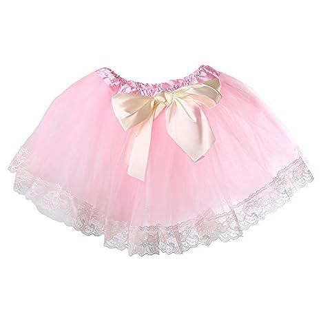 Lovely Baby cinta falda infantil niña novia (Fluffy falda para ...