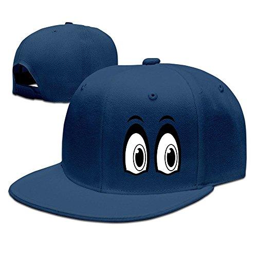 MaNeg Eyes Unisex Fashion Cool Adjustable Snapback Baseball Cap Hat One Size