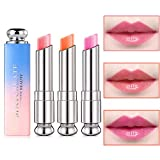 Pack of 3 Crystal Jelly Lipstick, Firstfly Long
