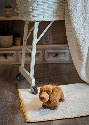 Nat and Jules Playful Small Dachshund Dog Children's Plush Stuffed Animal Toy