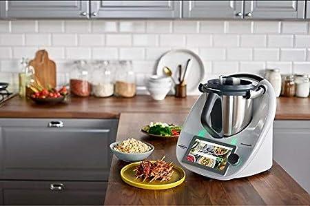 Vorwerk Thermomix TM6 - Cocina de encimera con WiFi integrada con 20 funciones culinarias diferentes, 110 V, versión EE. UU.: Amazon.es: Hogar