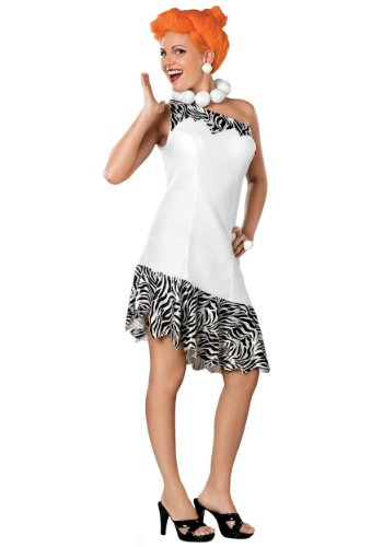 [Wilma Flintstone Costume - Plus Size - Dress Size 16-20] (Wilma Costume)