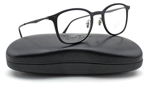 Ray-Ban RX7051 Unisex Eyeglasses (Matte Black Frame 2077, - Ray Ban Glasses Sale Optical
