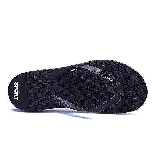 Size Black Black Clásica Para Y 45eu Liviana Juans Zapatos Flip shoes color Suela Exterior Hombre UTn74w6x